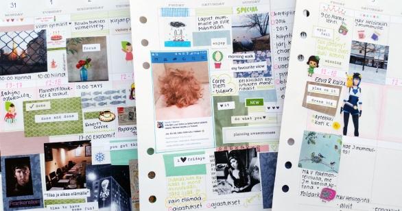 Omat valokuvat kalenterituunauksessa - Plan with Sandy